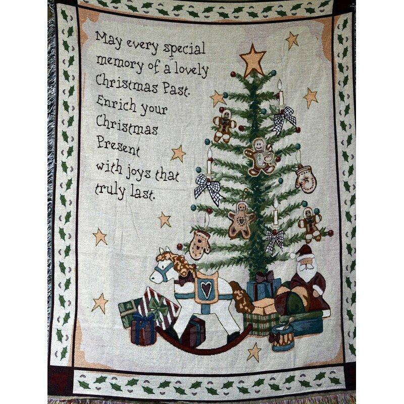 Рождественский плед